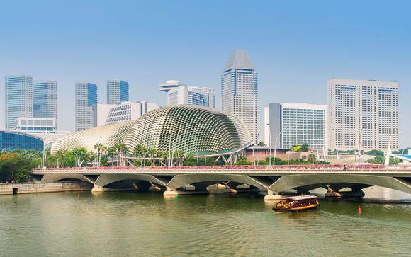 Willkommen in... Singapur!