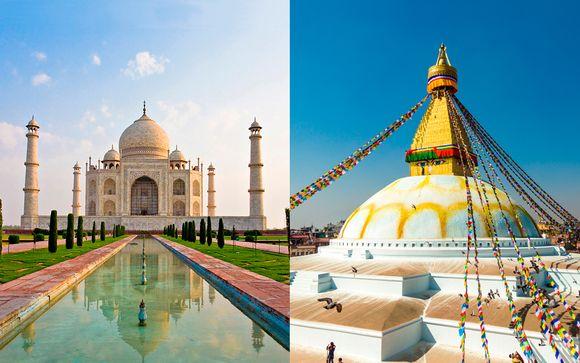 Willkommen in... Indien und Nepal!