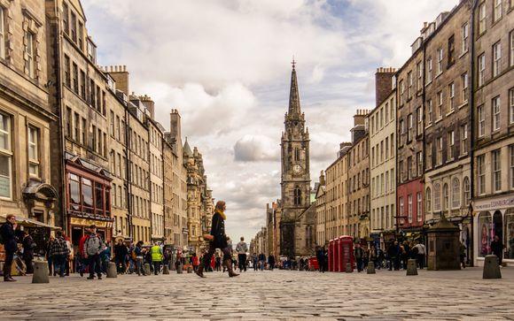 Willkommen in... Edinburgh!