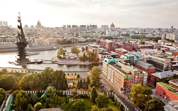Willkommen in...Moskau !