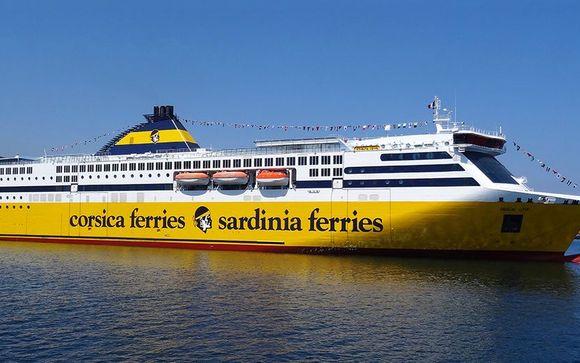 Reisen Sie mit Corsica Ferries