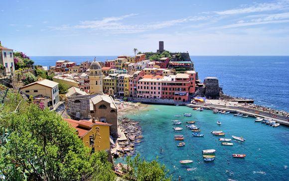 Willkommen in... Cinque Terre!