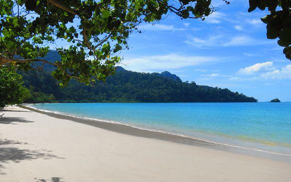 Ihre Stranderweiterung in 3 Nächten in Langkawi