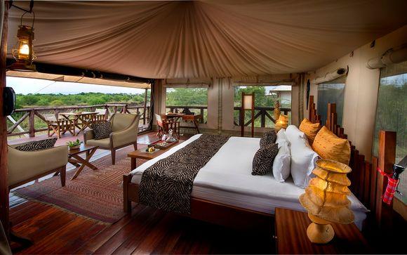 Ihr Hotel Neptune Mara Rianta Luxury Camp 5*