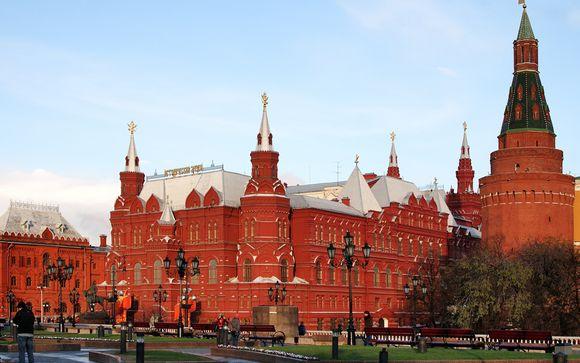 Willkommen in...Moskau!