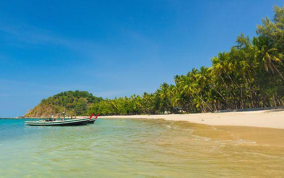 Ihre Verlängerung am Strand von Ngapali