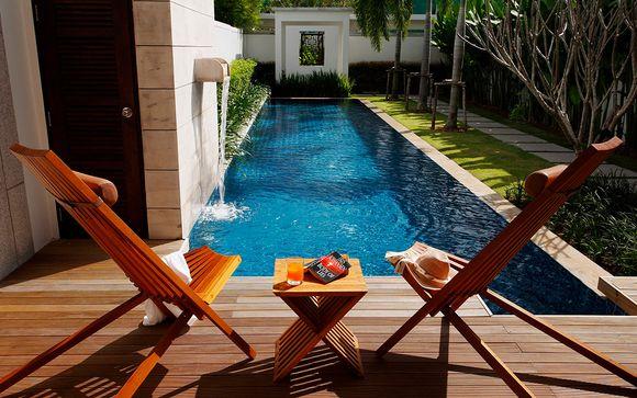Private Villa mit Pool