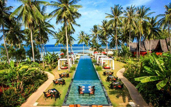 Kupu Kupu Phangan 5* & optionaler Aufenthalt in Bangkok
