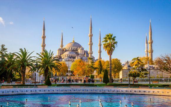 Luxusaufenthalt in der Stadt am Bosporus