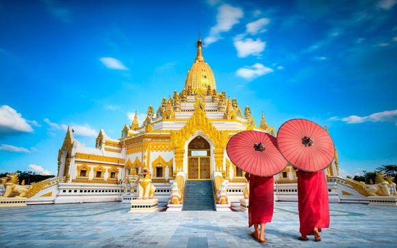 Willkommen in... Myanmar!