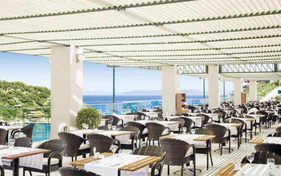 Ihre Verpflegung im Hilton Bodrum Turkbuku Resort & Spa