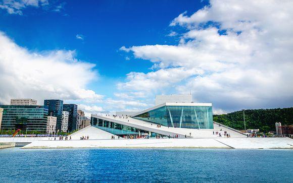 Optionaler Stopover in Oslo