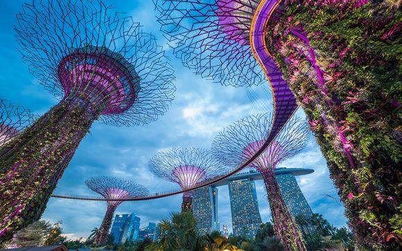 Ihre mögliche Vorverlängerung in Singapur (wenn Sie Angebot 2 wählen)