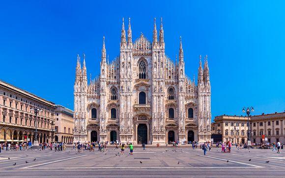Willkommen in... Mailand!