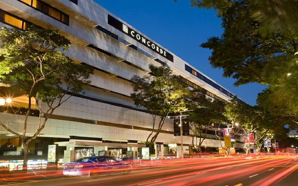 Concorde Hotel Singapur 4*