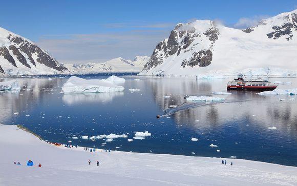 La Antártida y el legendario estrecho de Magallanes