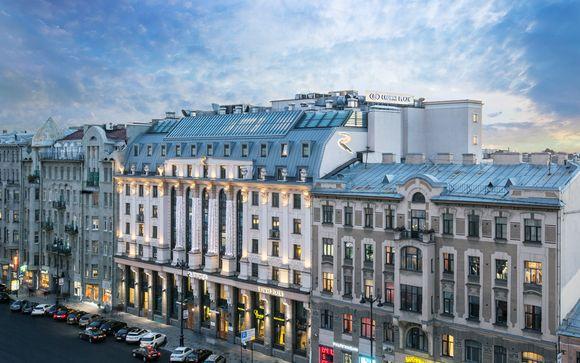 Rusia San Petersburgo - Crowne Plaza San Petersburgo - Ligovsky 4* desde 215,00 €