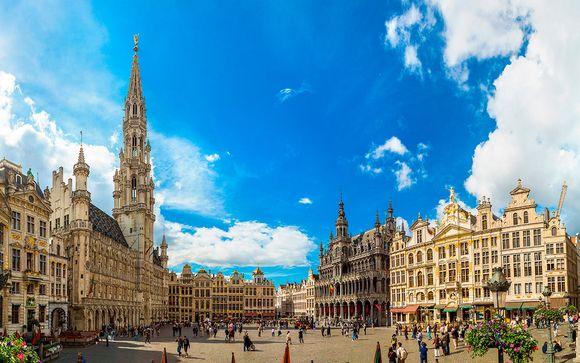 Bélgica Brujas - Brujas, Ámsterdam y Bruselas desde 585,00 €