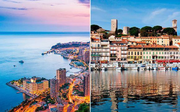 Hotel Columbus Monte Carlo y Hotel Gray d'Albion 4*