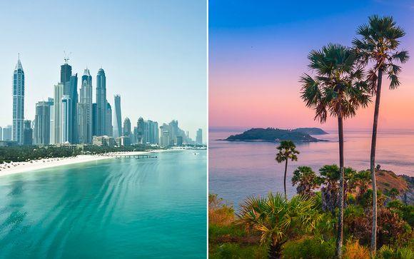 Tailandia Phuket Crowne Plaza Dubai Festival City 5* y Banthai Beach Spa 4* desde 807,00 €