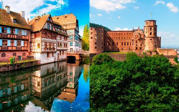 Alemania Frankfurt - Alsacia y Selva Negra desde 1.100,00 €