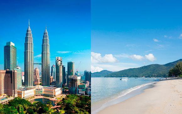Mercure Kuala Lumpur Shaw Parade 4* y Mercure Penang beach 4*