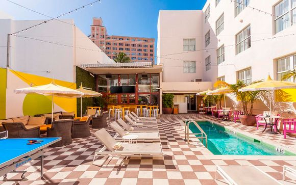 Clinton Hotel South Beach 4*, en Miami (solo con oferta 2)