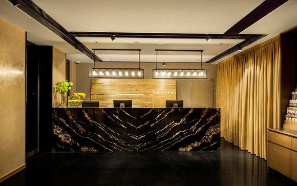 Estilo y comodidad en una fantástica habitación Executive