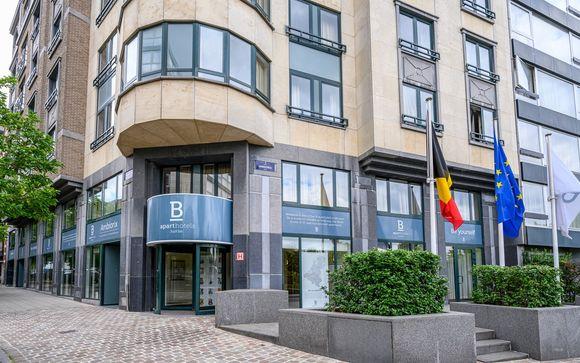 B-aparthotel Ambiorix 4* (solo opción 2)