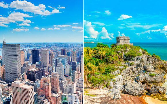 Cerca del Empire State y todo incluido en el Caribe con vuelos