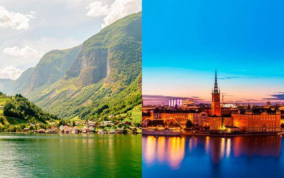 Circuito en verano por los paisajes Escandinavos