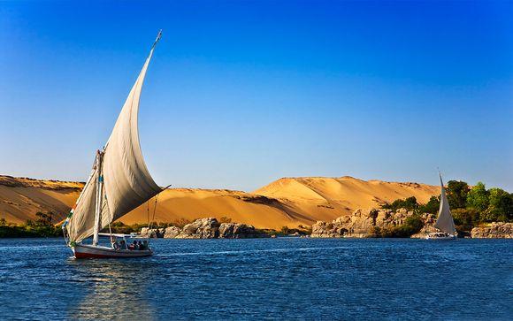 Tierra de Faraones con Hotel Marriot 5*