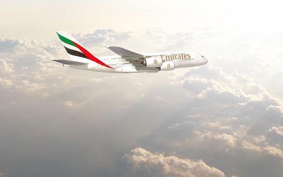 Emirates, aerolínea recomendada