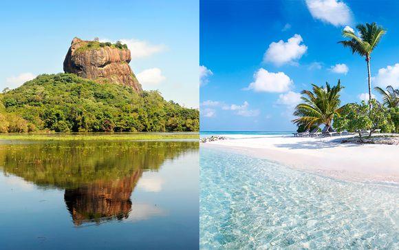 Tour privado en Ceylan y todo incluido en Maldivas con vuelos
