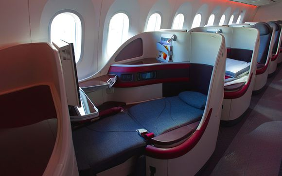 La Business Class de Qatar