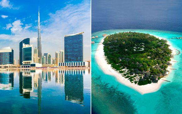 Maldivas Raa Atoll  Combinado Sheraton Dubai 5* y Adaaran Select Meedhupparu 4* desde 1.692,00 €