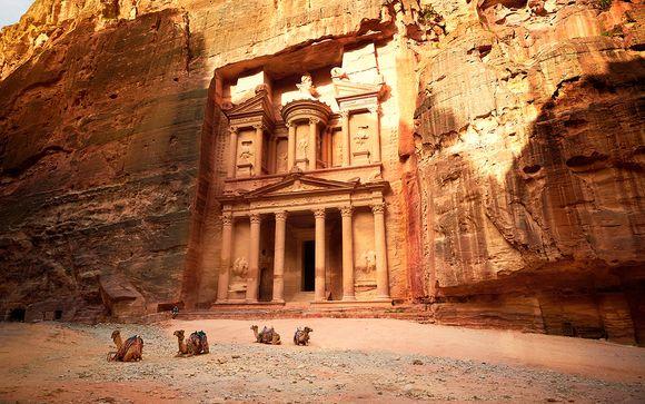 Las maravillas de Petra y Wadi Rum