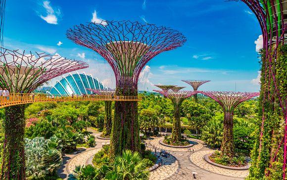 Itinerario en Singapur (solo opción 2)