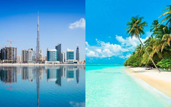 Maldivas Male - Hyatt Regency Dubai 5* y Canareef Resort 4* desde 1.536,00 €