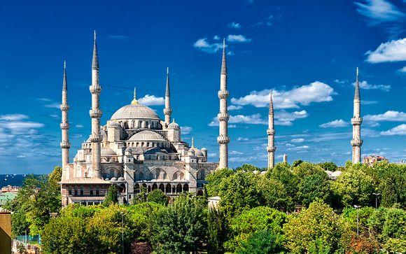 Descubre la antigua Constantinopla con vuelos