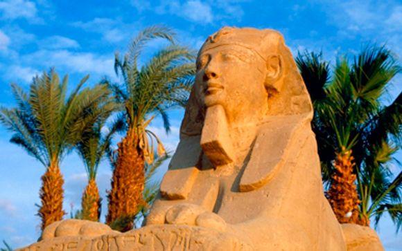 Crucero por el Nilo y estancia en hotel de El Cairo - Egipto