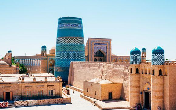 Descubre Uzbekistán