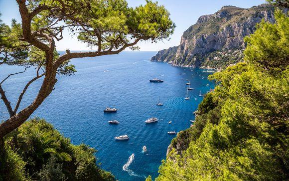 Excursión opcional a la isla de Capri