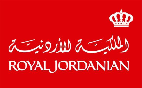Royal Jordanian, compañía preferente en Voyage Privé