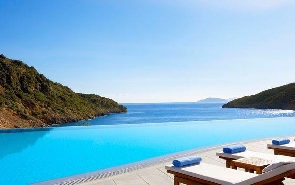 Una estancia de lujo con vistas infinitas al mar Aghios Nikolaos Grecia en Voyage Prive por 203.00 EUR€