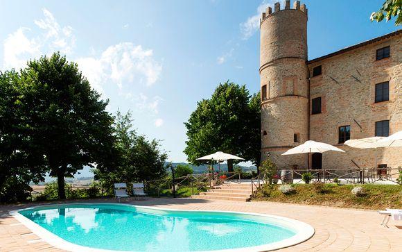 Castello di Baccaresca le abre sus puertas