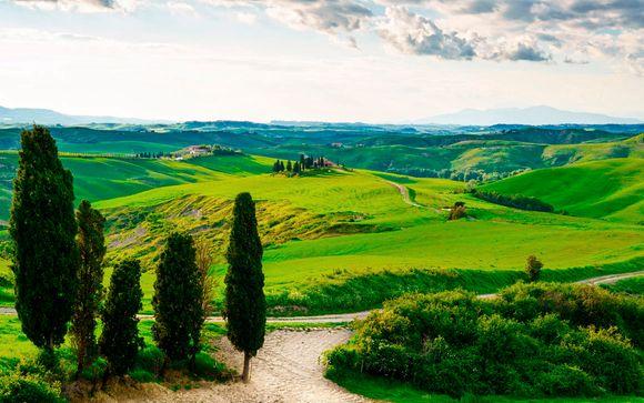 La Toscana le espera
