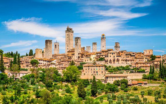 San Gimignano en La Toscana te espera