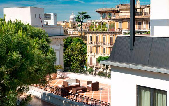 Italia Roma – Donna Laura Palace 4* desde 69,00 ? Roma Italia en Voyage Prive por 69.00 EUR€