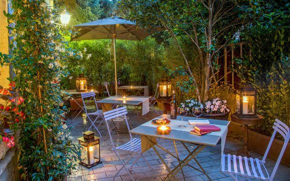 Italia Roma - Hotel Panama Garden 4* desde 75,00 ? con Voyage Prive en Roma Italia